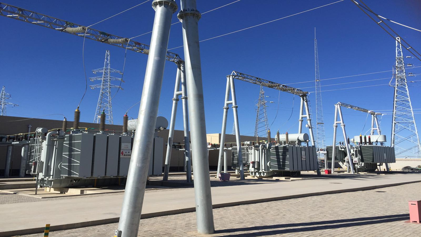 """宁夏盐池大水坑300MW风电工程""""大水坑110kV升压站""""顺利通过验收"""